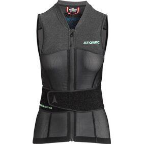 Atomic Live Shield Vest Amid Dame Ryggbeskyttelse (Svart)