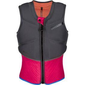 Mystic Diva Impact Chest Zip Womens Kite Wakeboard Vest (Phantom Grey)