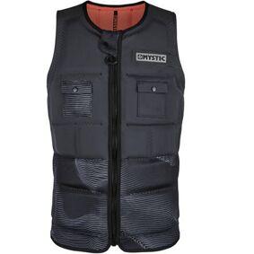 Mystic Peacock CE Chest Zip Impact Wakeboard Vest (Phantom Grey)