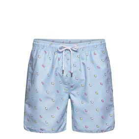 DEDICATED Swim Shorts Ice Creams Badeshorts Blå DEDICATED