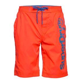 Superdry Classic Boardshort Surfeshorts Oransje Superdry