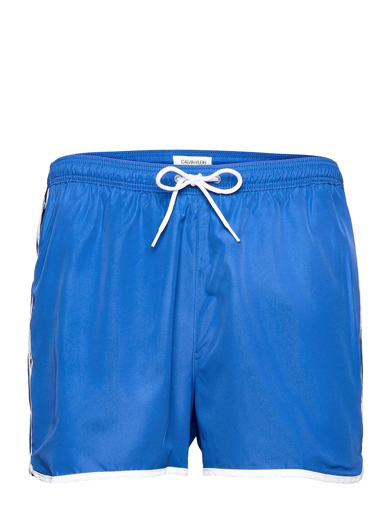 Calvin Short Runner Badeshorts Blå Calvin Klein