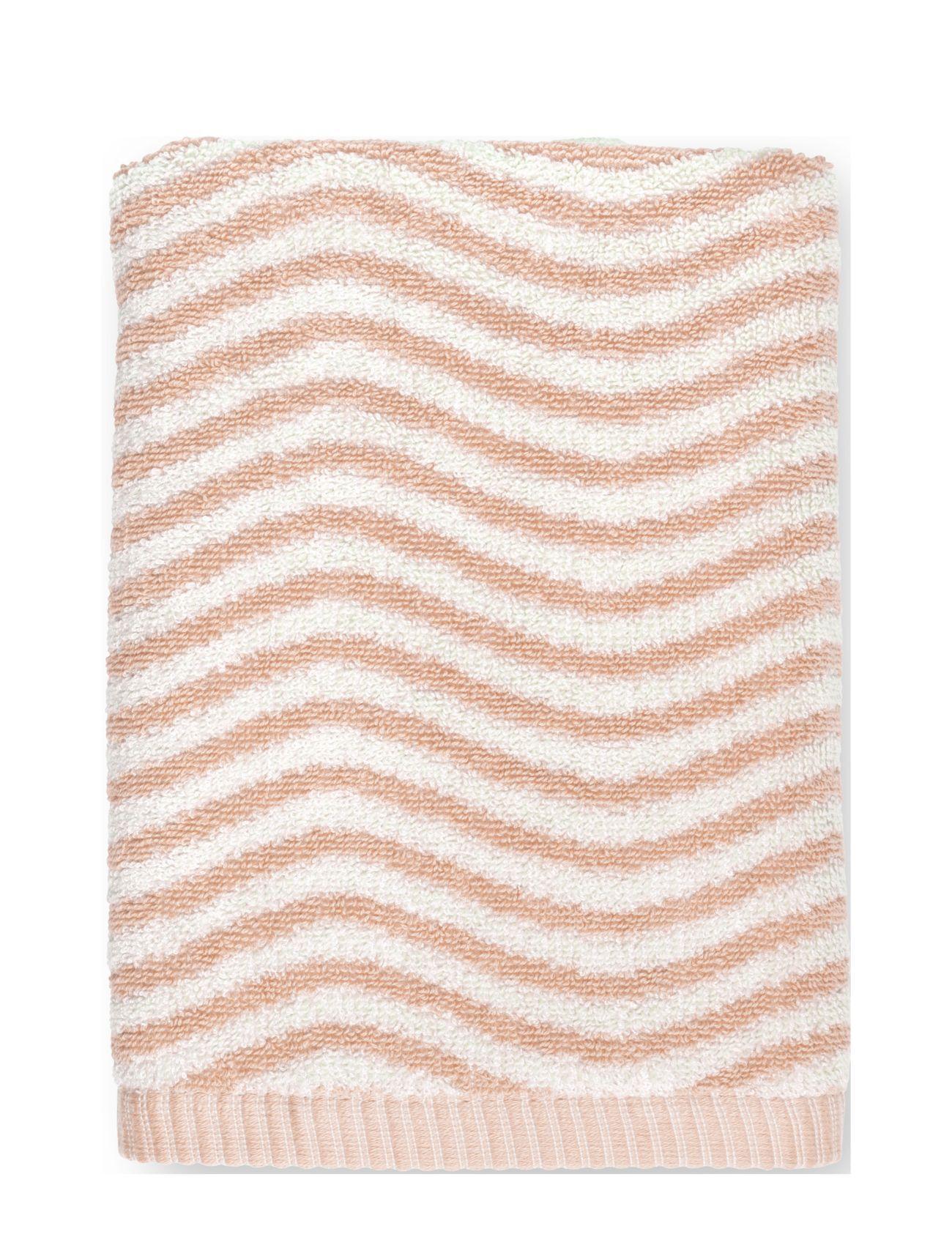 Juna Ocean HåNdkle 50x100 Cm Swimwear Beach Towels Rosa Juna