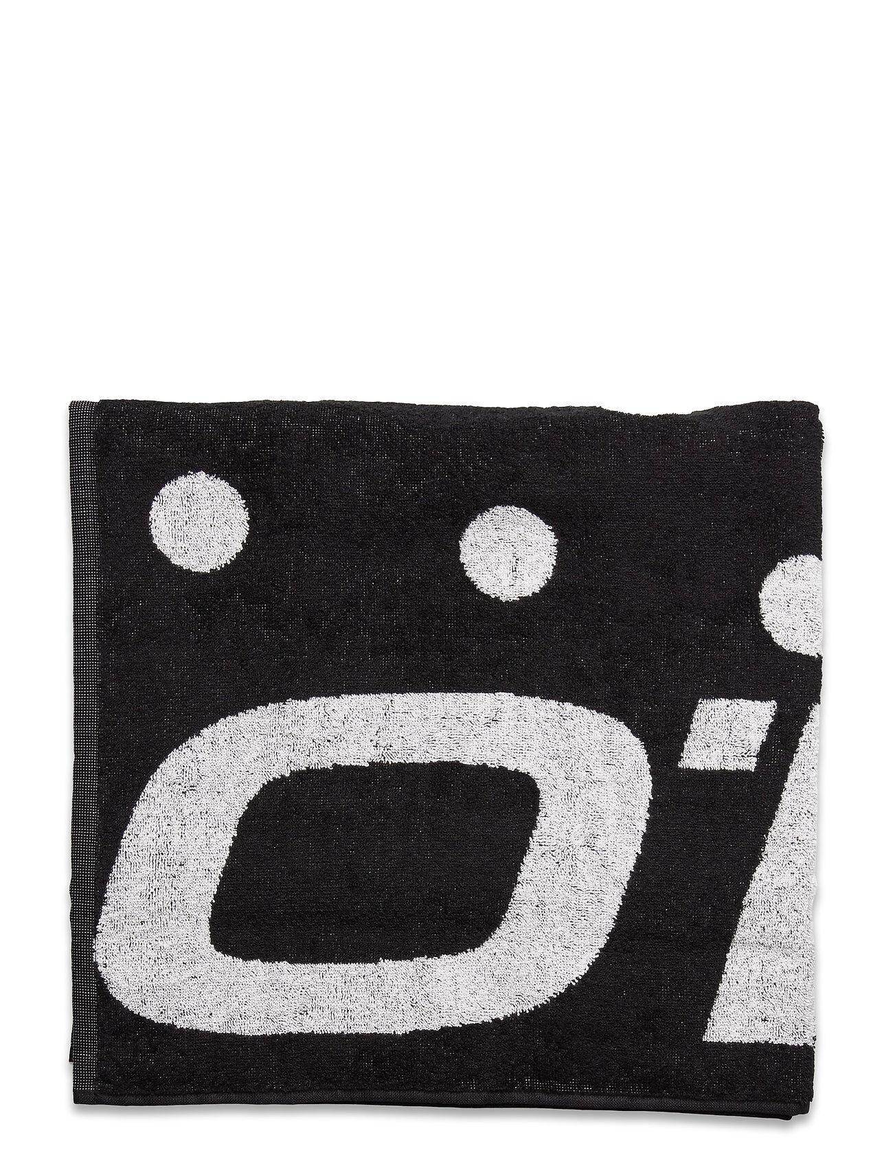 O'neill Bm O'Neill Logo Towel Swimwear Beach Towels Svart O'neill