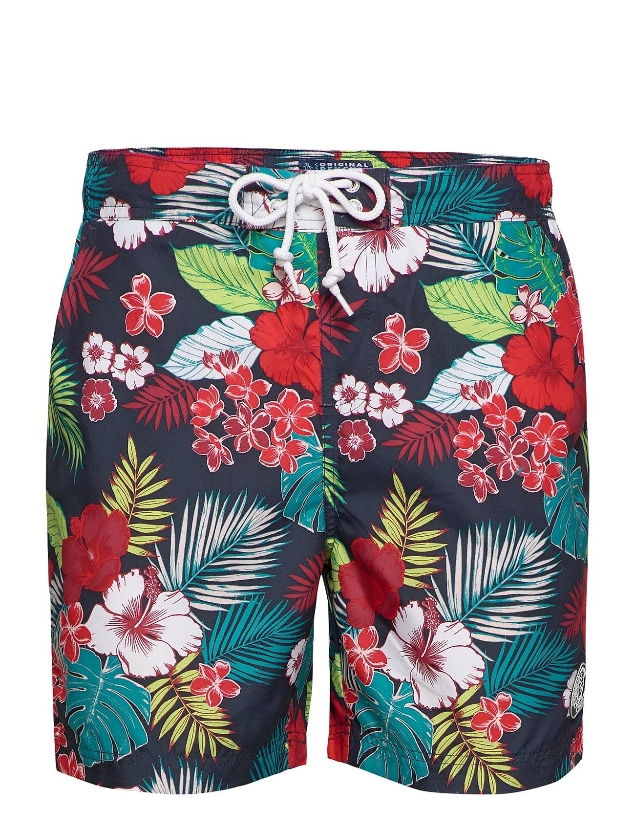 Original Penguin Floral Swimshort Badeshorts Multi/mønstret Original Penguin