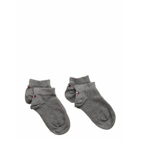 Tommy Hilfiger Th Children Sneaker 2p Socks & Tights Socks Grå Tommy Hilfiger