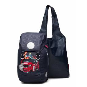 Beckmann of Norway Classic 12l - Fire Truck Accessories Bags Backpacks Blå Beckmann Of Norway