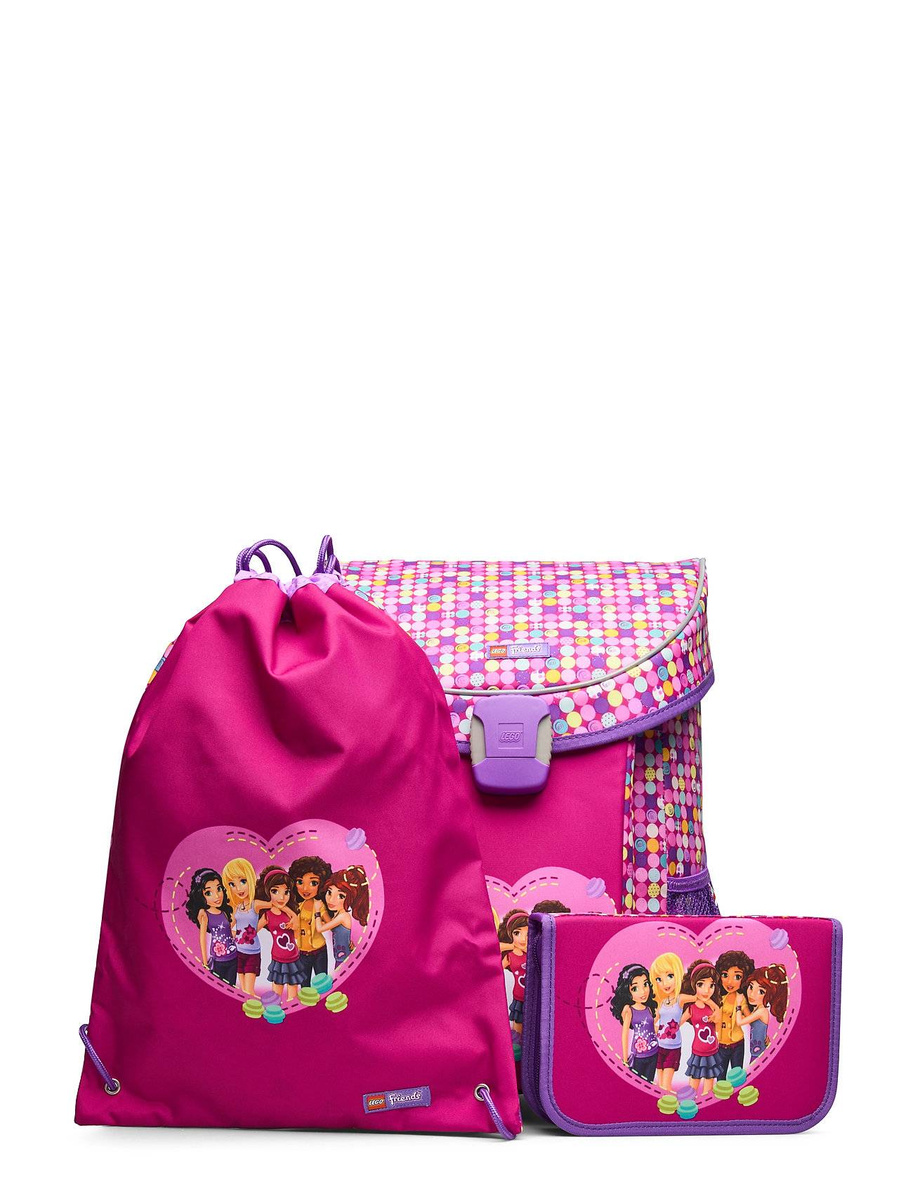 Lego Easy School Bag Set Accessories Bags Backpacks Rosa Lego Bags