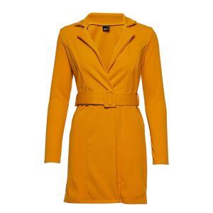 5b6d74a2 Dameklær GINA TRICOT Bea Blazer Dress Kort Kjole Oransje GINA TRICOT