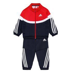 adidas Performance Shiny Badge Of Sport 3-Stripes Track Suit Joggedress Blå Adidas Performance