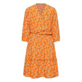 Costbart Iluna Dress Kjole Oransje Costbart
