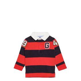 GANT D1. 3d Varsity Barstripe Hr T-shirts Polo Shirts Oransje GANT