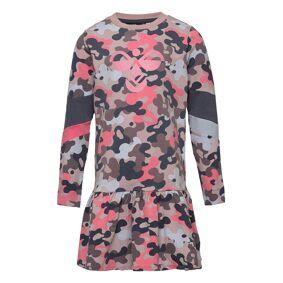Hummel Hmlpolly Dress L/S Kjole Rosa Hummel