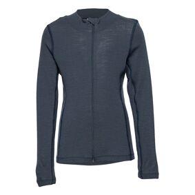 Mikk-Line Wool Cardigan Outerwear Base Layers Blå Mikk-Line