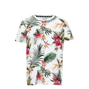 name it Nkmfalkbergson Ss Top T-shirts Short-sleeved Hvit Name It