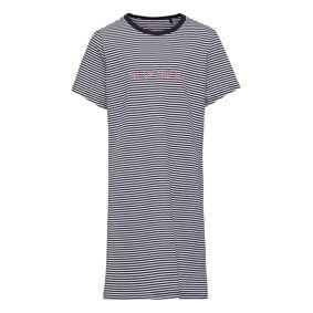 Schiesser Nightshirt 1/1 Night & Underwear Pyjamas Nightdresses Blå Schiesser