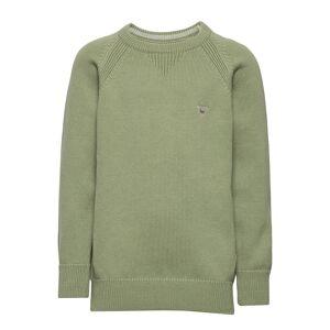 Gant Casual Cotton Crew Pullover Grønn Gant