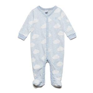 GAP Baby First Favorite Print Footed -Piece Pyjamas Sie Jumpsuit Blå GAP