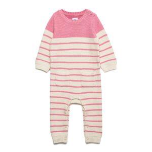 GAP Baby Brannan Stripe -Piece Langermet Bodysuit Rosa GAP