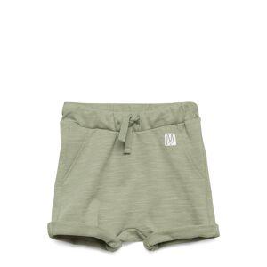 Lindex Shorts Solid Fleece Shorts Grønn Lindex