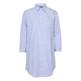 Lauren Ralph Lauren Homewear Lrl Heritage Ess. 3/4 Sl Sleepshirt Topp Blå Lauren Ralph Lauren Homewear