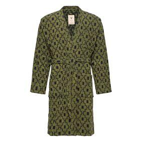OAS The Machu Pichu Robe Morgenkåpe Badekåpe Grønn OAS