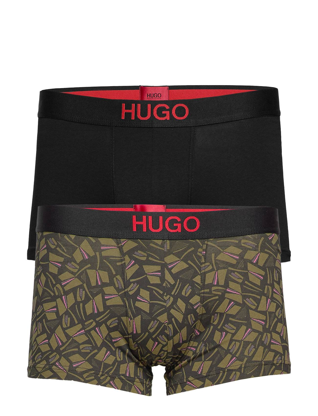 HUGO Trunk Brother Pack Boksershorts Grønn HUGO