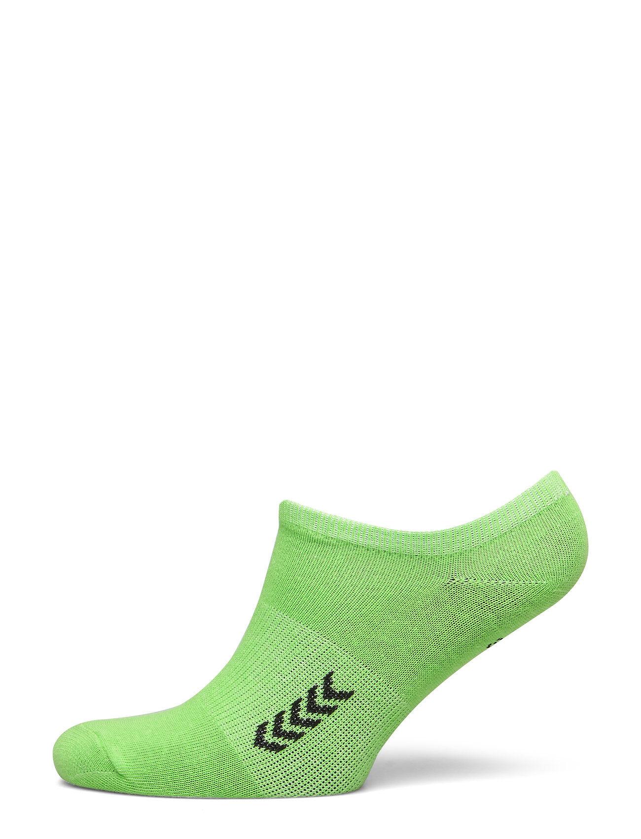 Hummel Ankle Sock Smu Ankelsokker Korte Strømper Grønn Hummel