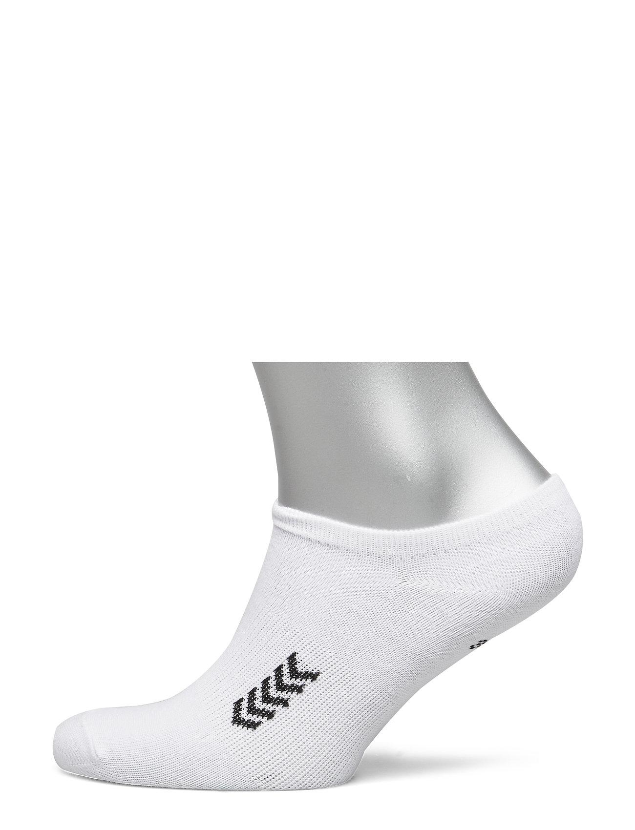 Hummel Ankle Sock Smu Ankelsokker Korte Strømper Hvit Hummel