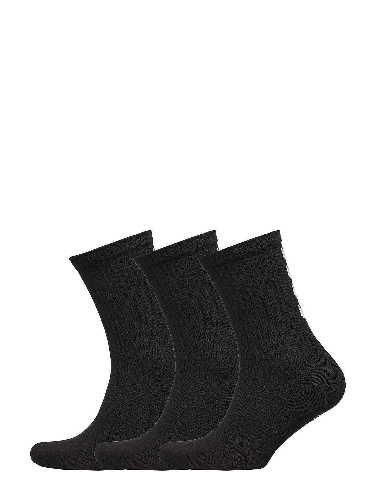 Hummel Fundamental 3-Pack Sock Underwear Socks Regular Socks Svart Hummel