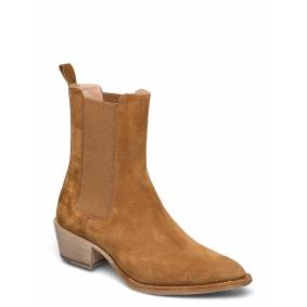 Laura Bellariva Ankle Boots Shoes Boots Ankle Boots Ankle Boot - Heel Brun Laura Bellariva