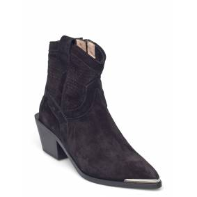 Laura Bellariva Ankle Boots Shoes Boots Ankle Boots Ankle Boot - Heel Svart Laura Bellariva