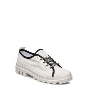 Tommy Hilfiger Color Block Lace Up Shoe Lave Sneakers Hvit Tommy Hilfiger