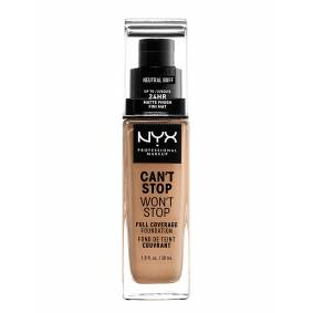 NYX PROFESSIONAL MAKEUP Can'T Stop Won'T Stop Foundation Foundation Sminke NYX PROFESSIONAL MAKEUP