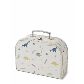 Liewood Poppin Suitcase - Set Of 3 Home Kids Decor Storage Creme Liewood
