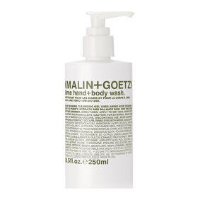Malin+Goetz Lime Hand + Body Wash Beauty MEN Skin Care Body Shower Gel Nude Malin+Goetz