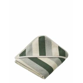 Liewood Alba Hooded Baby Towel Home Bath Time Towels & Cloths Multi/mønstret Liewood
