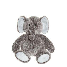 Teddykompaniet Elephant Walnut Play Time Toys Soft Toys Brun Teddykompaniet