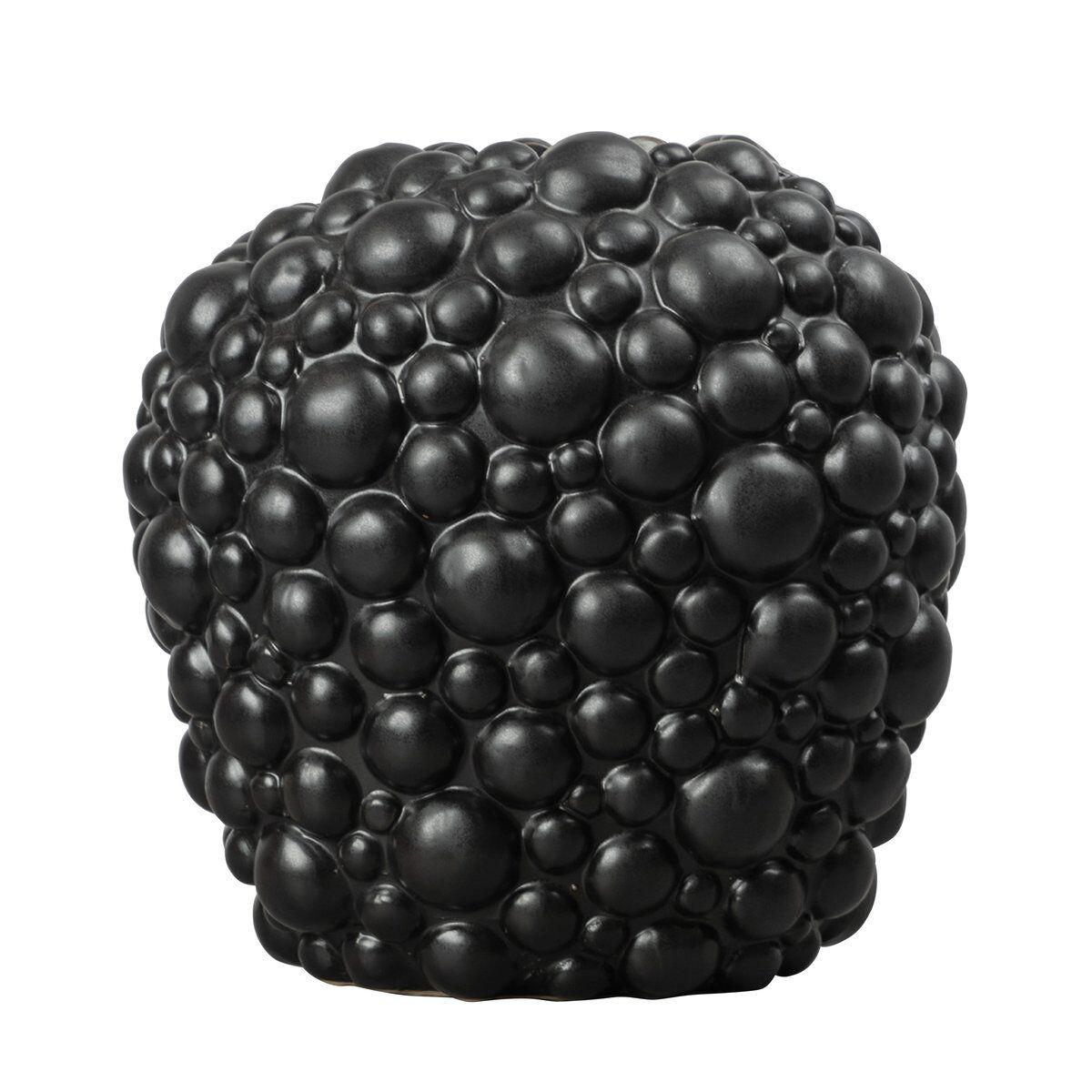 By On Celeste vase 26 cm Black