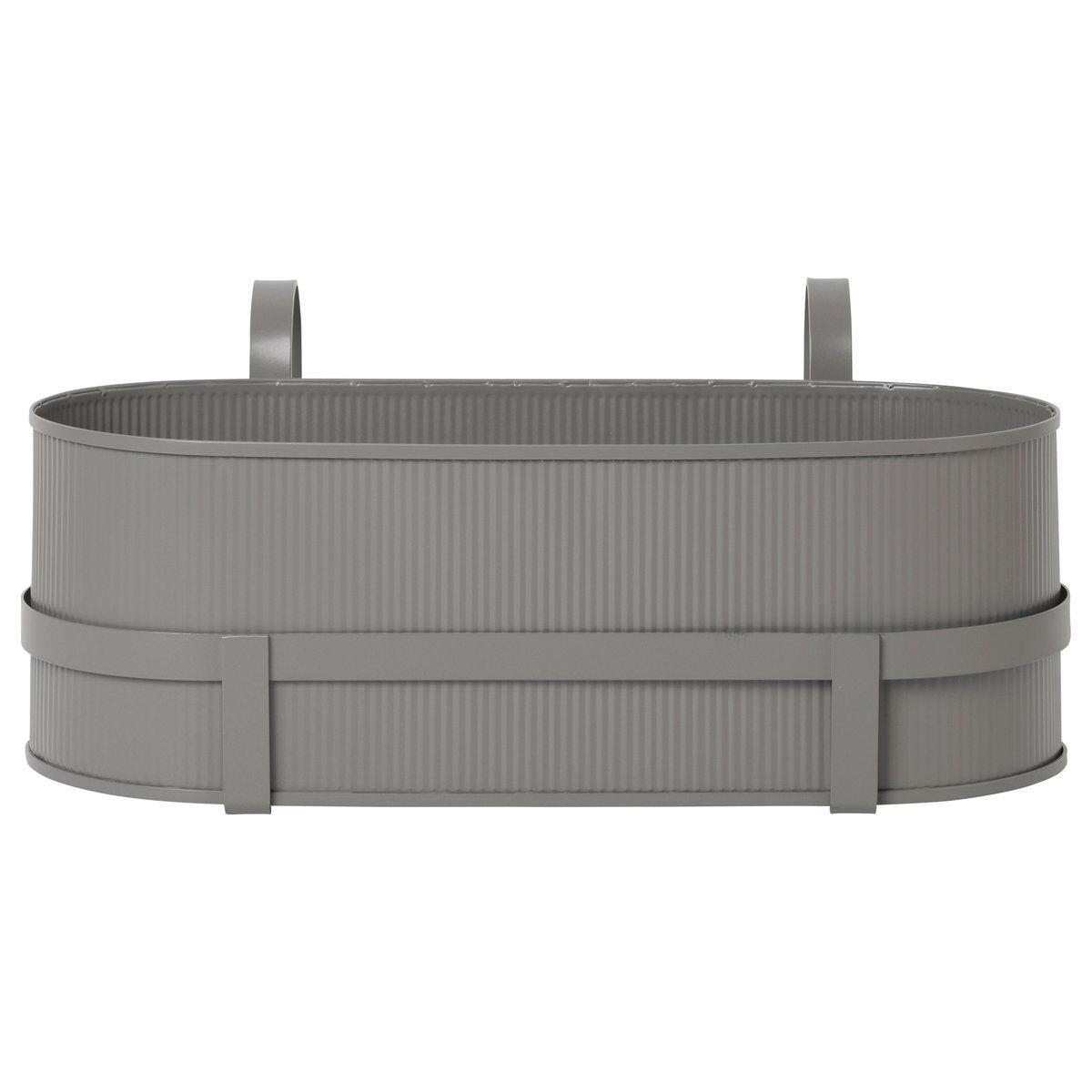 Ferm Living Bau balkongkasse Warm grey