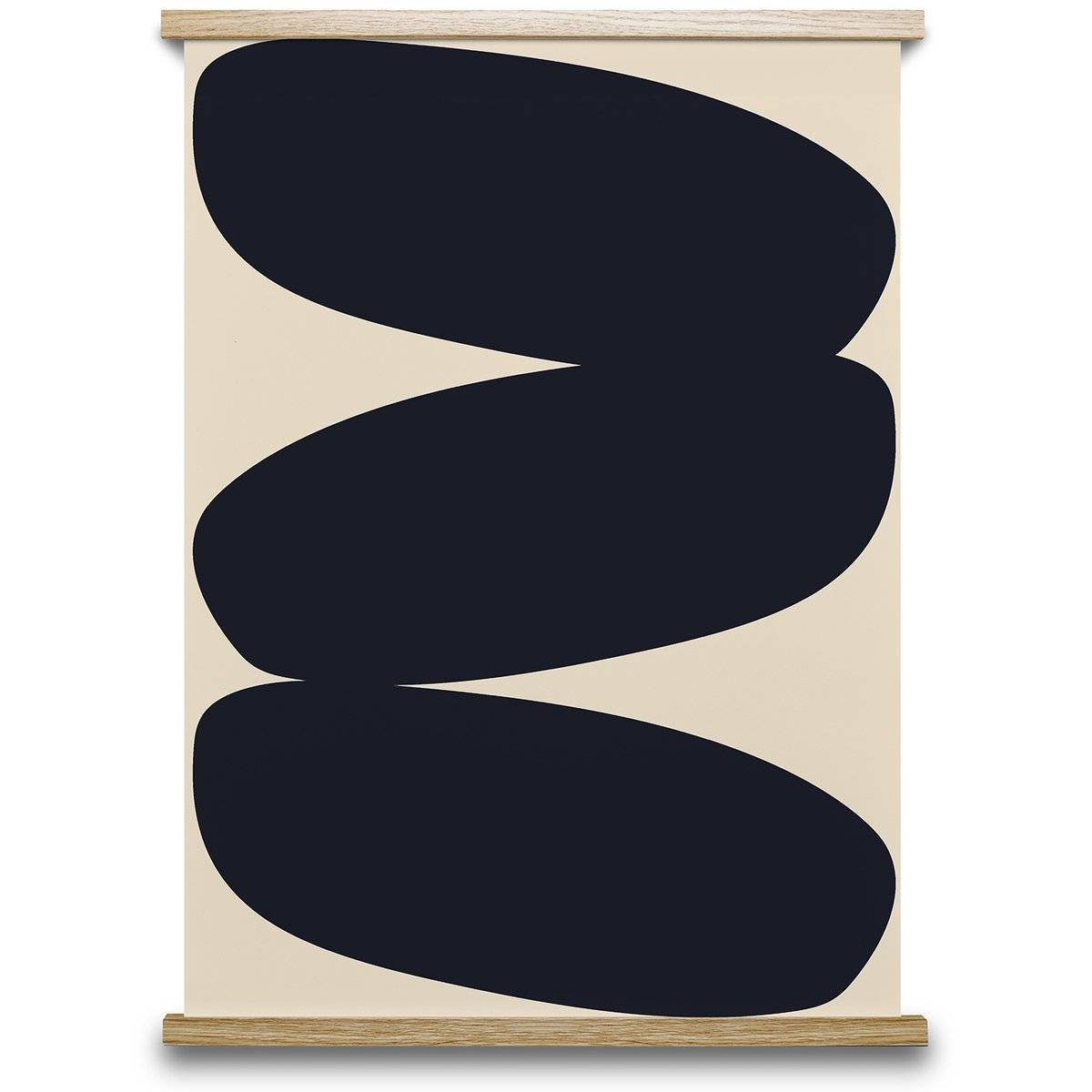 Paper Collective Solid Shapes 01 poster 70x100 cm