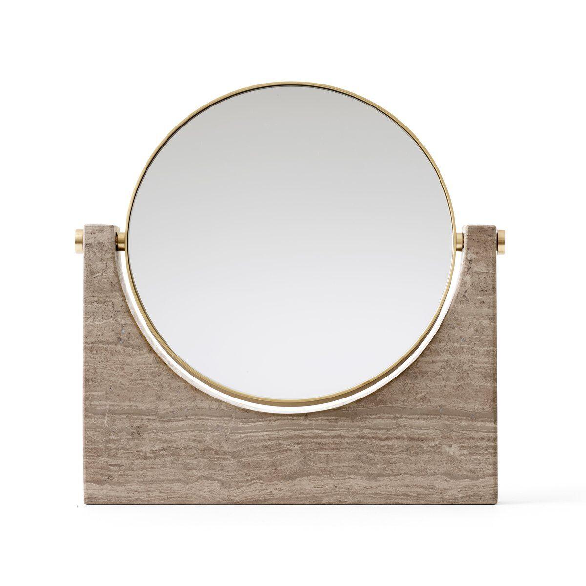 Menu Pepe Marble speil messing-brun marmor