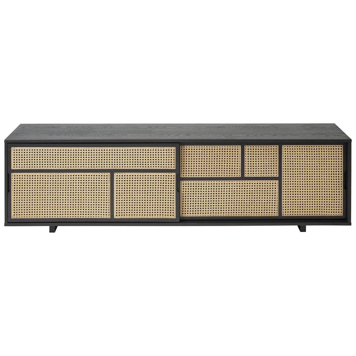 Design House Air sidebord, lavt svart, rotting