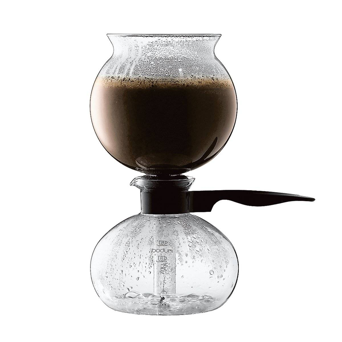 Bodum Pebo vakum kaffebrygger 1 L 8 kobber