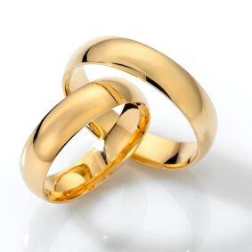 Forlovelsesringer SpesialPris gult gull 6mm