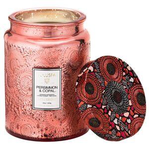 Voluspa Large Glass Jar Candle Persimmon & Copal
