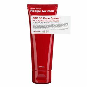 Recipe For Men SPF30 Face Cream (75ml)