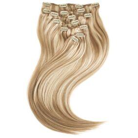 Rapunzel of Sweden Clip-on set Original 7 pieces M7.3/10.8 Cendre Ash Blonde Mix 50cm