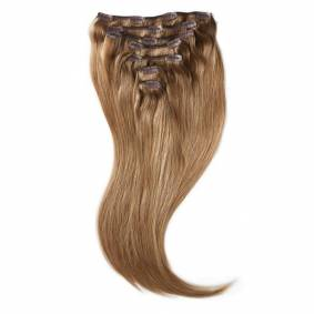 Rapunzel of Sweden Clip-on set Original 7 pieces Dark Blonde Toffee 50cm