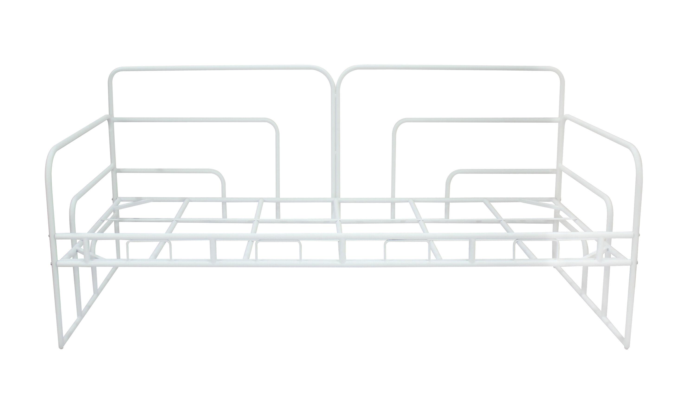 Mala seng , metallseng 90x200 cm hvit.
